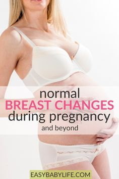 8 breast changes during pregnancy to expect! Mysterious things happen to your breasts during pregnancy. Darker areolas, bigger, full of veins, huge nipples. Pregnancy Checklist, Pregnancy Calculator, Pregnancy Workout, Pregnancy Vitamins, Healthy Pregnancy Tips, Exercise While Pregnant, Getting Pregnant Tips, Mysterious Things, Breastfeeding Classes