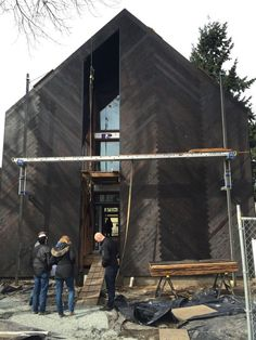 Materials Monday looks at Shou Sugi Ban : TreeHugger. Malboeuf Bowie Architecture, Seattle WA