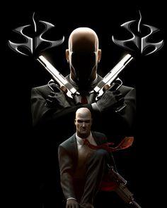 The Hitman series Agent 47, Black Phone Wallpaper, Assassin, Game Art, Graphic Art, Geek Stuff, Darth Vader, Marvel, Fictional Characters