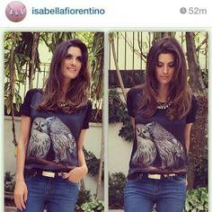 A maravilhosa Isabella Fiorentino escolheu um look Fillity para usar no Dia Internacional das Mulheres!!!!!!  Lindíssima!!!!!!! ♡  http://loja.fillity.com.br/  #fillity #fillityinverno2014 #fillity25anos #diadamulher #diainternacionaldamulher
