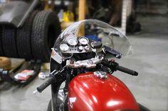 For sale 1975 CB750/CR750 cafe' racer    4000 miles on motor after being rebuilt…