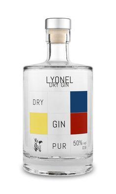 Lyonel Dry Gin 50%vol. Organic