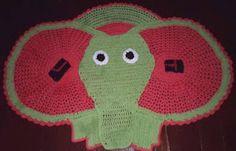 trabalho feito em croche, com barbantes piratinga n.8