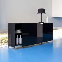 The Everywhere sideboard is large enough to store all of your buffet items.