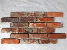 Antikriemchen Ziegelsteine Mauerziegel Backsteine Retro Verblender - Fliesen in ziegelstein optik