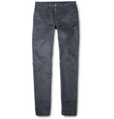 Loro PianaCotton and Cashmere-Blend Corduroy Trousers