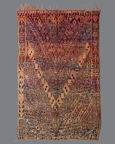 vintage Moroccan rug,  Guigou #GG04