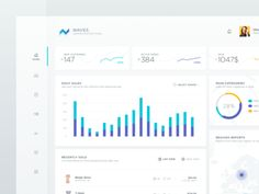 E-commerce dashboard UI Data Dashboard, Digital Dashboard, Dashboard Interface, Dashboard Design, Interface Design, Financial Dashboard, Dashboard Reports, Web Design Studio, Web Design Tips