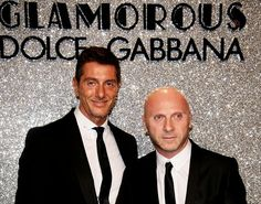 "Domenico Dolce and Stefano Gabbana met at a nightclub in Milan in 1982 while they were working as assistants in an atelier. Two years later they started both a romantic relationship and a business together, with some help from Domenico's family company of tailors, Dolce Saverio. In 1985, they were invited to show their homemade, exhibitionist collection in a fashion show honoring ""New Talents"" sponsored by the Milano Collezioni."