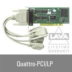 NEW Four Port Serial RS232 Low Pro (Controller Cards) by LAVA Computer. $88.04. Four Port Serial RS232 Low Pro (Controller Cards).