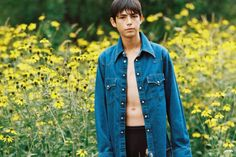 Male model  Claude Morgan