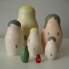 adam and eve russian dolls