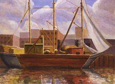 Untitled (Barge) c.1925