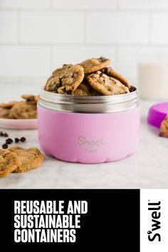 On-the-go eating made easy with kid-friendly snack food containers. Shop our insulated snack containers for kids in a variety of playful designs. Good Food, Yummy Food, Whats For Lunch, Low Calorie Snacks, Weight Loss Snacks, Food Containers, Cooking Tips, Snack Recipes, Stuffed Peppers