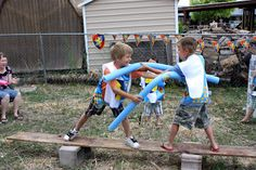The High Flying Adventures of Gramma Luvlee: Jousting