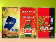 Yerba Mate - Variety Pack - 3 LBS - Rosamonte - Amanda - Taragui -  Free Shipping #YerbaMate