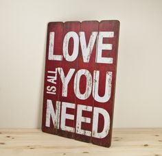 CARTEL ALL YOU NEED - Natura