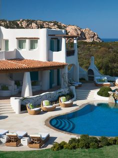 Sardinia: Villa Turchese, Costa Smeralda, Italy
