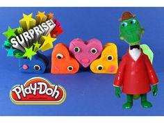 Плей До Сюрприз Игрушки Машинка Крокодил Гена Play doh Surprise Toy Cars...