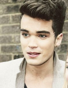 Josh from Union J- look at how perfect his hair is.