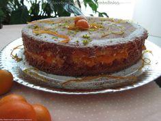 Bolo de Laranja com Damasco | Tortas e bolos > Receitas de Bolo de Laranja | Receitas Gshow