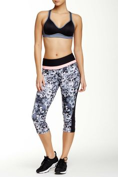 90 Degree By Reflex - Color Pop Printed Capri Pant at Nordstrom Rack. Free Shipping on orders over $100.