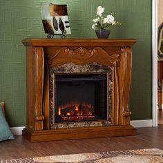 Farmhouse Fireplace, Stove Fireplace, Fireplace Inserts, Fireplace Design, Fireplace Mantels, Fireplace Ideas, Country Fireplace, Fireplace Kitchen, Fireplace Garden