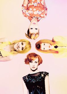 Paramore! The evolution of Hayley and her hair.
