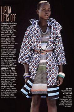 Lupita Nyong'o Latest African Fashion, African Prints, African fashion styles, African clothing, Nigerian style, Ghanaian fashion, African women dresses, African Bags, African shoes, Nigerian fashion, Ankara, Aso okè, Kenté, brocade etc ~DK
