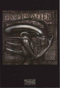 HR Giger Alien Art Poster 24x36 – BananaRoad