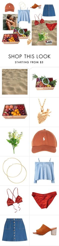 """Summer vibes"" by mathildegoetke ❤ liked on Polyvore featuring StrangeFruit, Sandy Liang, Patagonia, HUGO and Jennifer Fisher"