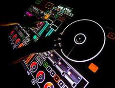 Minority Report-like DJ equipment