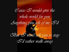 ▶ If Your Heart's Not In It by Westlife (w/ lyrics) - YouTube