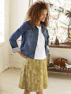 Skarta reversible skirt