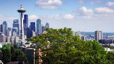 Grand Seattle Views from Kerry Park Queen Anne Hill