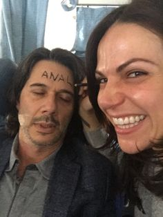 Lana and her husband.