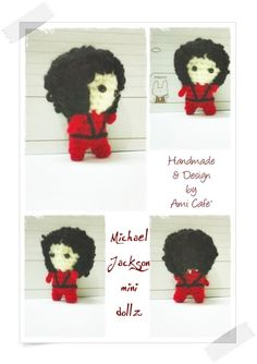 Cute Michael Jackson Amigurumi :)
