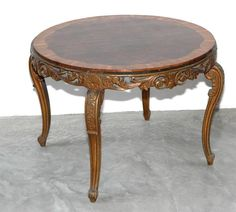 Italian Carved Wood Coffee Table   From a unique collection of antique and modern coffee and cocktail tables at https://www.1stdibs.com/furniture/tables/coffee-tables-cocktail-tables/