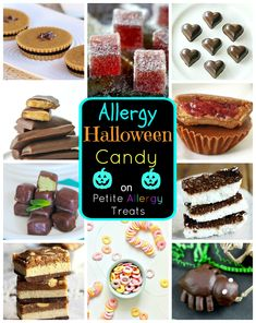 peanut free halloween treats recipes