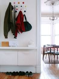 Slim option for nicer shoe storage near glass door? ikea trones