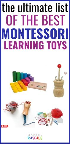 Montessori toys are some of the best open ended toys! We love how kids learn by experimenting and pretend playing. These toys are also great for developing fine motor skills. We have gathered our favorites here and we know they would be a great addition to your Montessori playroom. Grimm's Toys, Baby Toys, Kids Toys, Montessori Playroom, Educational Games, Creative Play, Learning Toys, Imaginative Play, Fine Motor Skills