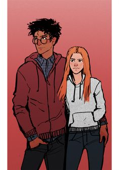 ultimate babes hp art hinny harry ginny