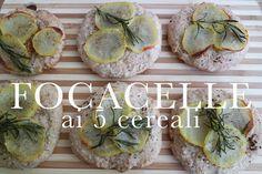 focaccelle ai 5 cereali | vegan ok | CasaSuperStar