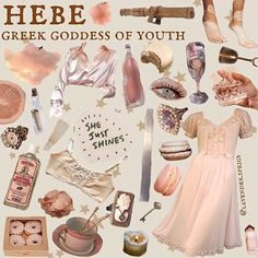 niche meme aesthetic hebe goddess of youth angelcore peach pastel pink baby shimmer white sparkle chic glamour Angel Aesthetic, Classy Aesthetic, Aesthetic Collage, Aesthetic Fashion, Aesthetic Clothes, Aesthetic Dark, Aesthetic Memes, Princess Aesthetic, She Was Beautiful