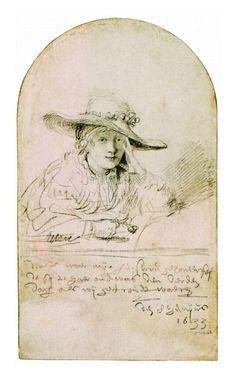 Rembrandt Harmensz van Rijn, Saskia, 1633