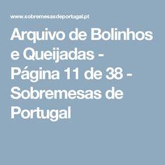 Arquivo de Bolinhos e Queijadas - Página 11 de 38 - Sobremesas de Portugal