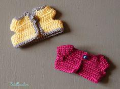 Tuto crochet gilet / pull pour Sylvanian Families et Calico Critters