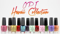 OPI Hawaii Collectio