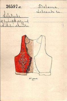 Swedish Fashion, Folk Fashion, Historical Costume, Historical Clothing, Norwegian Clothing, Strange Flowers, Folk Embroidery, Sketch Inspiration, Folk Costume