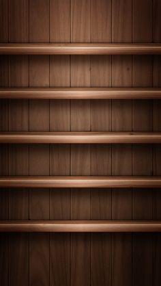 smartphone Bookshelf iPhone5 スマホ用壁紙